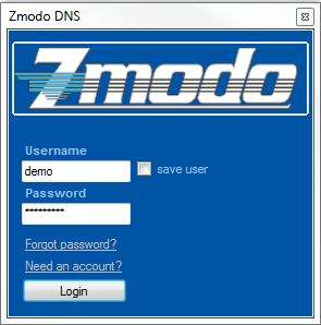 Zmodo Knowledge Base - Creating a Free Zmodo DNS Account for Use