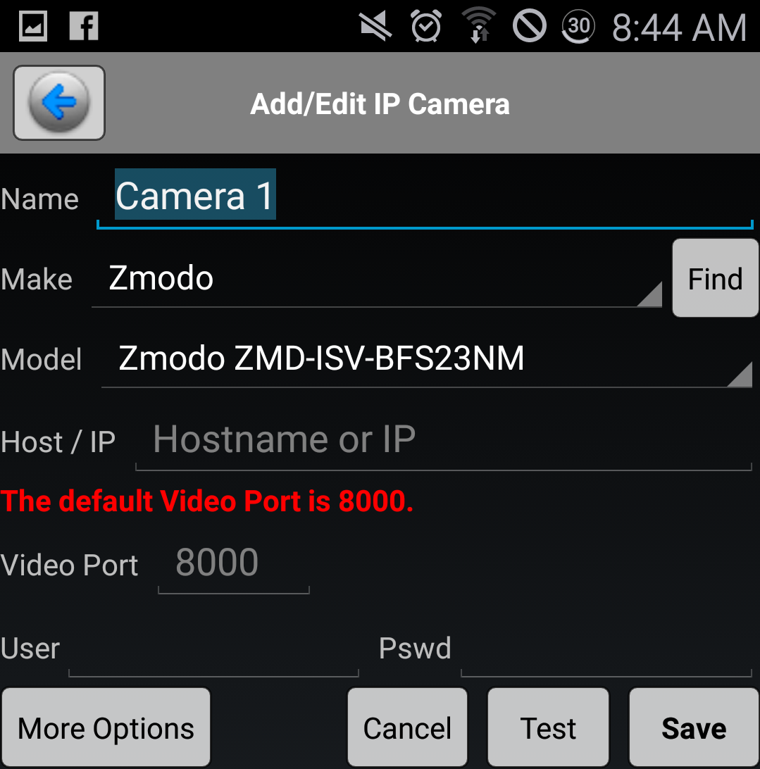Zmodo Knowledge Base - Alternative Mobile Application - Third Party