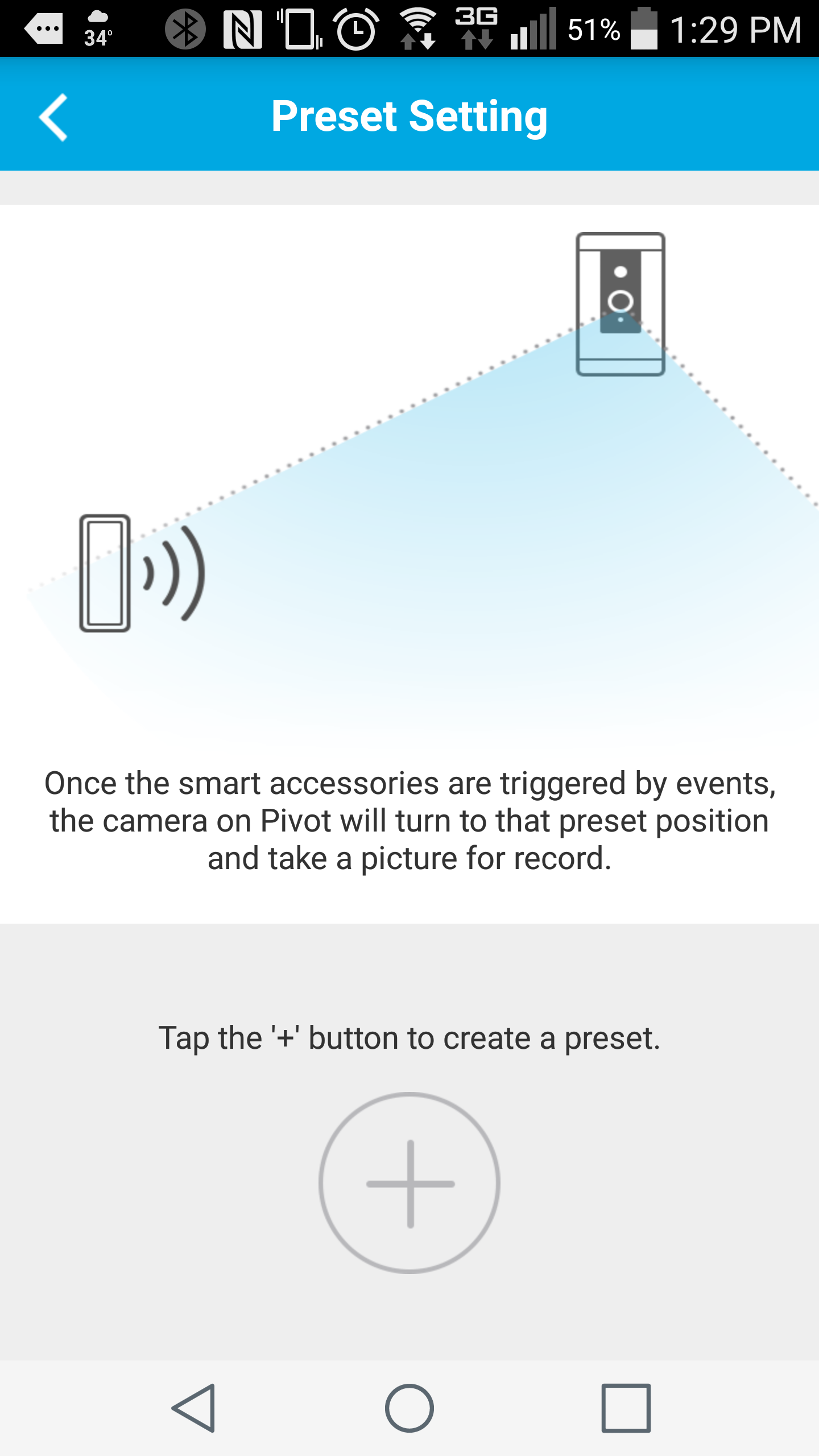 Zmodo Knowledge Base - Accessory preset setup for the Pivot